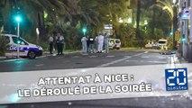 Attentat de Nice :  Le déroulé de la soirée