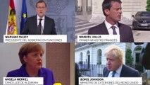 Atentado en Niza: reacciones de España, Alemania, Reino Unido y Francia