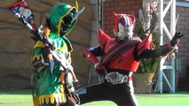 """""""Photo session 2"""" Kamen Rider ghost Robin soul and Kamen Rider drive appeared!"""