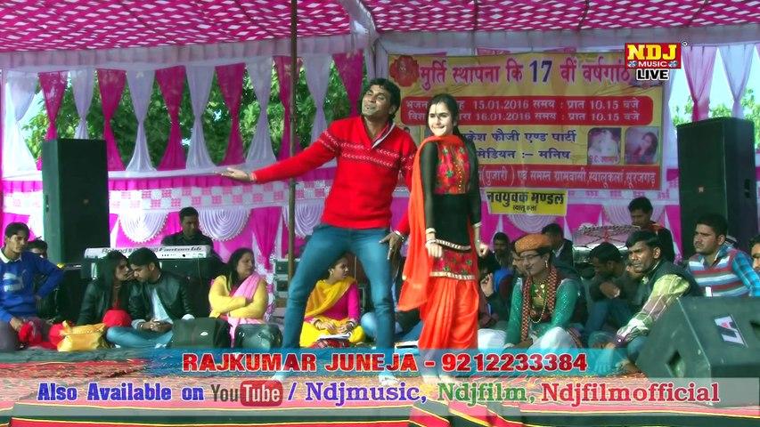Jad Baje Rat Ke Aath #Latest Haryanvi Dance 2016 #Chhoti Sapna #New Haryanvi Ragni #Mukesh Foji #Regional Hits