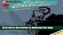 Read John Coltrane: Jazz Play-Along Volume 13 (Jazz Play Along Series)  PDF Free