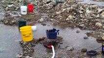 Lake Creek Colorado gold prospecting May 25, 2014.
