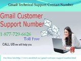 Gmail Customer Support Number 1-877-776-6261- Resolution Point