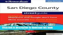 Read The Thomas Guide San Diego County Street Guide (Thomas Guide San Diego County Including