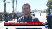 Attack in Nice: anger over arrival of French president and prime minister in Nice