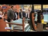 12 07 16 lcp Visite d'Arnaud Montebourg dans les Ardennes