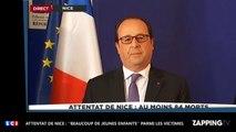 Attentat de Nice : ''Beaucoup de jeunes enfants'' parmi les victimes selon François Hollande