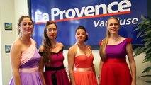 """Festival Off d'Avignon : les Swing Cockt'elles chantent à """"La Provence"""""""