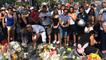 Attentat de Nice: Recueillement sur la Promenade des Anglais
