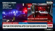 Turkish soldiers force CNN Turk anchors off air