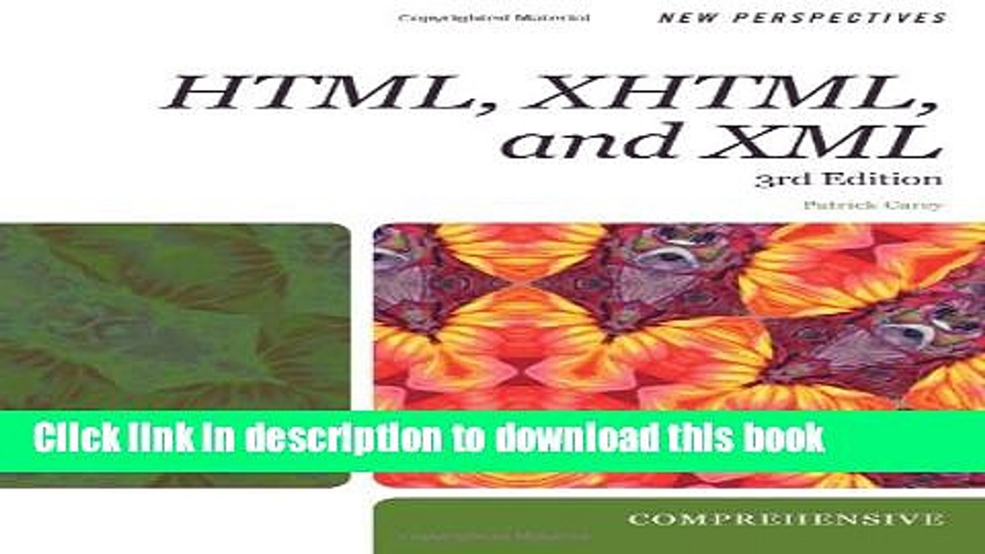 New Perspectives on HTML, XHTML, and XML, Third Edition