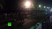 Les gens fuient, paniqués, après l'attentat à la voiture-bélier à Nice (images perturbantes)