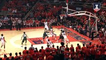 Illinois Men's Basketball vs Michigan State 2/22/15 Highlights