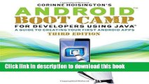 Read Android Boot Camp for Developers Using Java®: A Guide to Creating Your First Android Apps