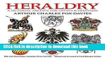Read Heraldry: A Pictorial Archive for Artists and Designers (Dover Pictorial Archive) PDF Free