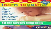 Read Baby and Toddler Parent Guide (Toddler first learning)  Ebook Free