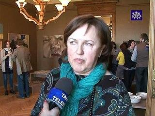 Talsu novada muzejs uz brīdi kļūst par Kurzemes mākslas meku