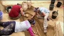 Arqueólogos israelitas descobriram cemitério filisteu em Ascalão