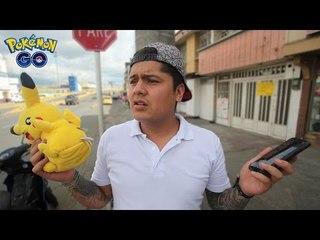 POKEMON GO! - BUSCANDO A PIKACHU