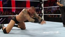 Randy Orton RKO on Sheamus - Raw - August 17, 2015