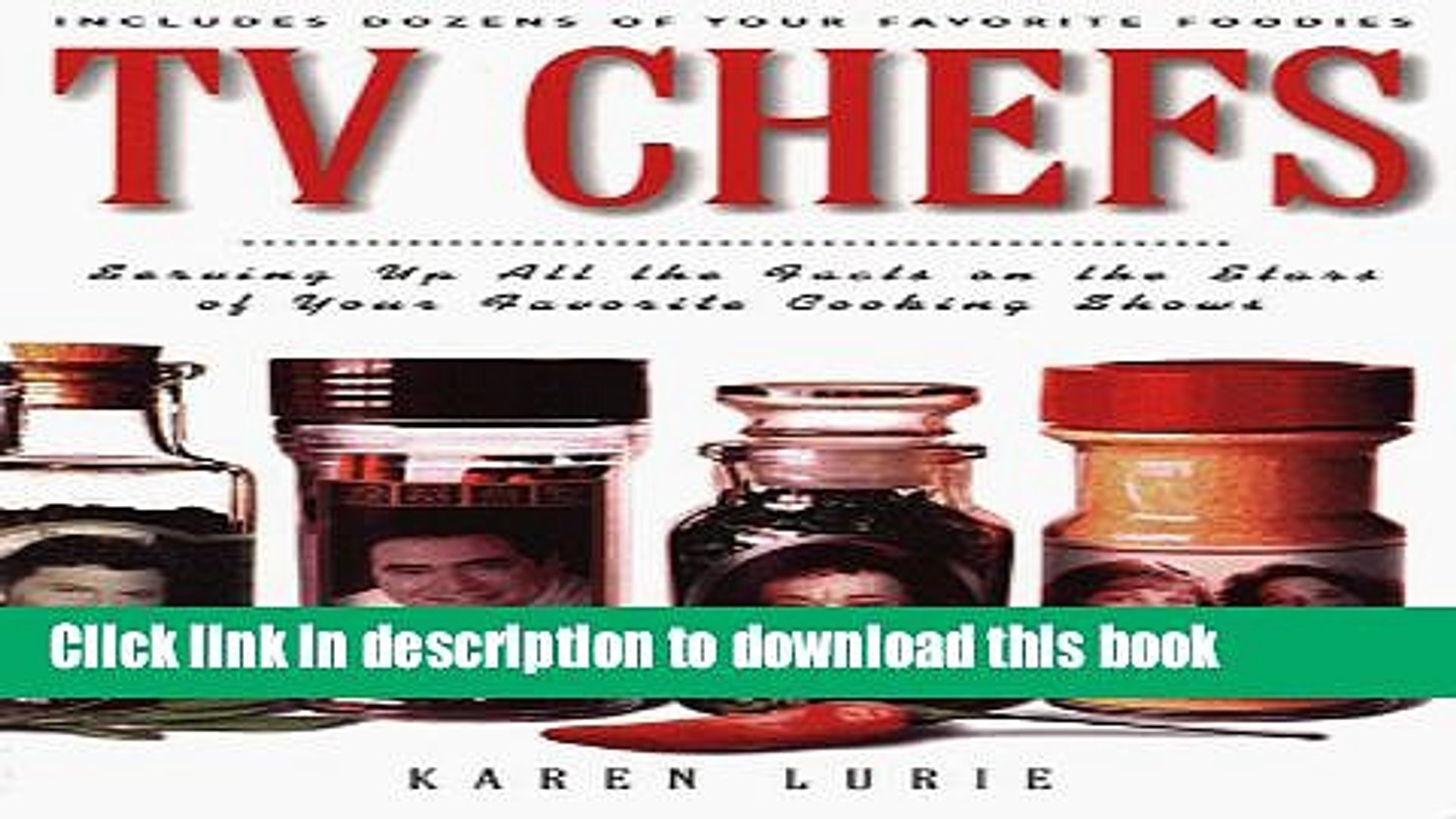 PDF TV Chefs: The Dish on the Stars of Your Favorite Cooking Shows  Read Online