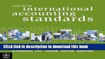 [PDF] Applying International Accounting Standards by Alfredson, Keith, Leo, Ken J., Picker, Ruth,