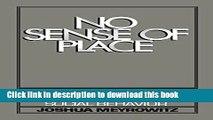 [Read PDF] No Sense of Place: The Impact of Electronic Media on Social Behavior  Full EBook
