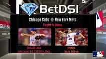 MLB Betting Odds Chicago Cubs at New York Mets Picks