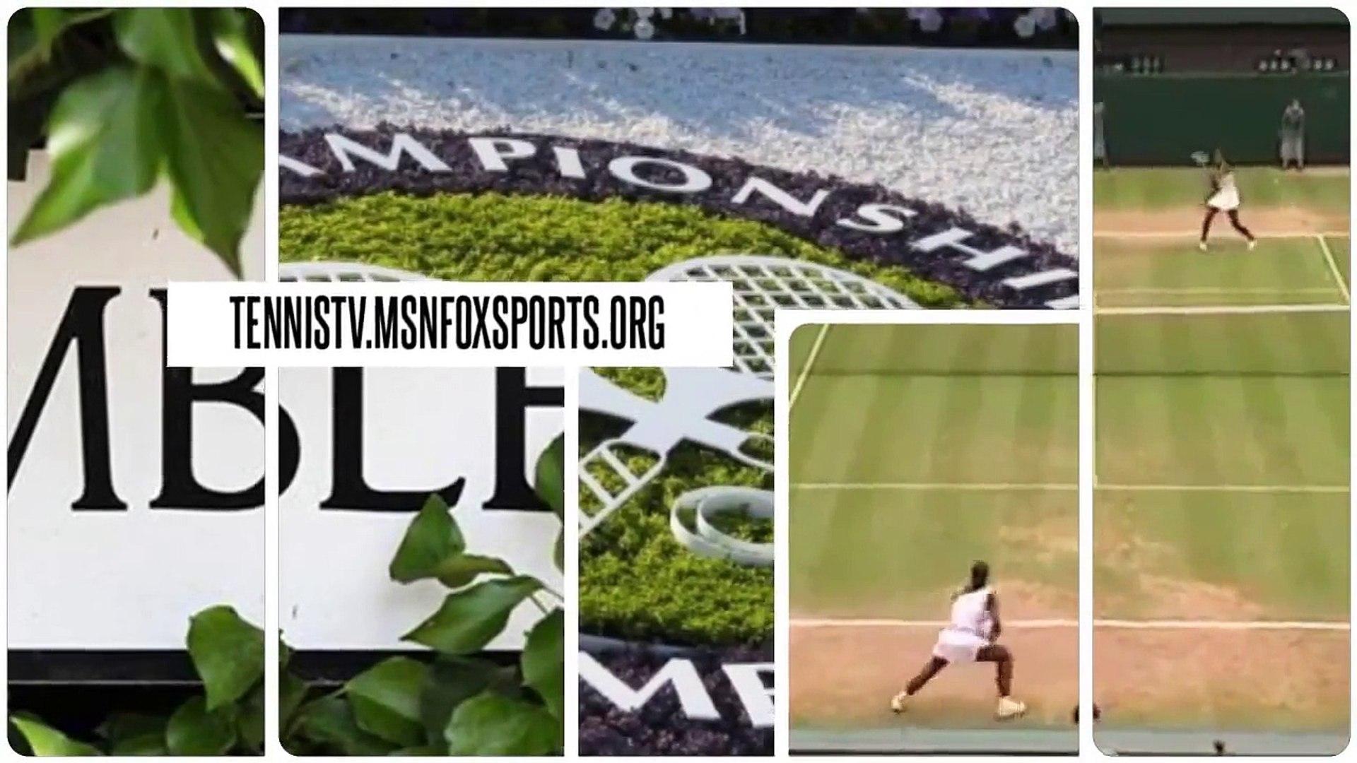 Watch - Caroline Wozniacki v Svetlana Kuznetsova - Wimbledon Singles 2016 Day One