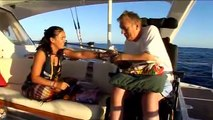 Spinal Cord Injury Yachtsman Geoff Holt Atlantic Sail Day 19
