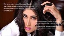 Qandeel Baloch murdered by her brother in Multan