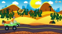 Police Cars with Racing Cars - Car Race - Cartoons for children! Emergency Vehicles Kids Cartoons