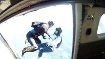 Accident saut en parachute, chute libre 5 Avril 2013
