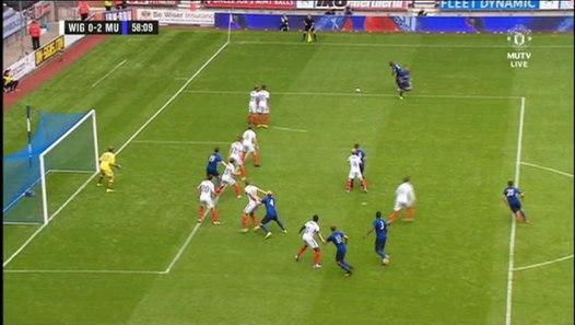 Andreas Pereira Goal Vs Wigan (0-2) HD