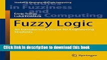 Read Fuzzy Logic: An Introductory Course for Engineering Students (Studies in Fuzziness and Soft