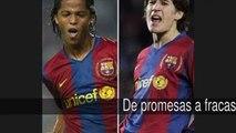 De promesas a fracasos futbolísticos