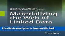 Read Materializing the Web of Linked Data PDF Free