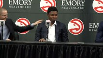 Happy to be Hawks - Kent Bazemore and Dwight Howard