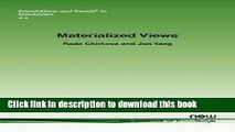 Read Materialized Views (Foundations and Trends(r) in Databases)  Ebook Free