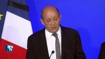 """Jean-Yves Le Drian: """"Notre but est d'arriver à l'éradication complète de cet Etat terroriste"""""""