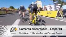 Onboard camera / Caméra embarquée - Étape 14  - Tour de France 2016
