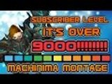 Evylyn - Sub lvl IT'S OVER 9000! 6.1 level 100 Arms Warrior 9k subs Bg Machinima montage wow wod pvp