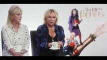 Joanna Lumley & Jennifer Saunders talk all things Absolutely Fabulous