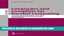Read Languages and Compilers for Parallel Computing: 14th International Workshop, LCPC 2001,