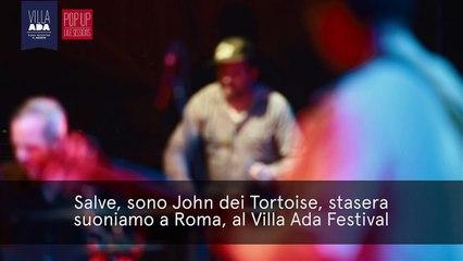 Due chiacchiere con John dei Tortoise a Villa Ada- Roma- Viteculture