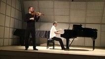 Shostakovich  Prelude Op.34 No. 24, Pylarinos violin - Giannakakis piano