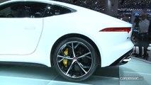 Vidéo en direct de Genève 2014 -  Jaguar F-Type Coupé, l'été c'est toujours mieux avec un chapeau