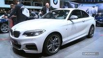 """Salon de Genève 2014 - BMW Série 2 coupé : """"l'entrée de gamme"""" des coupés"""