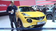 Salon de Genève 2014 - Nissan Juke restylé : on change peu une équipe qui gagne
