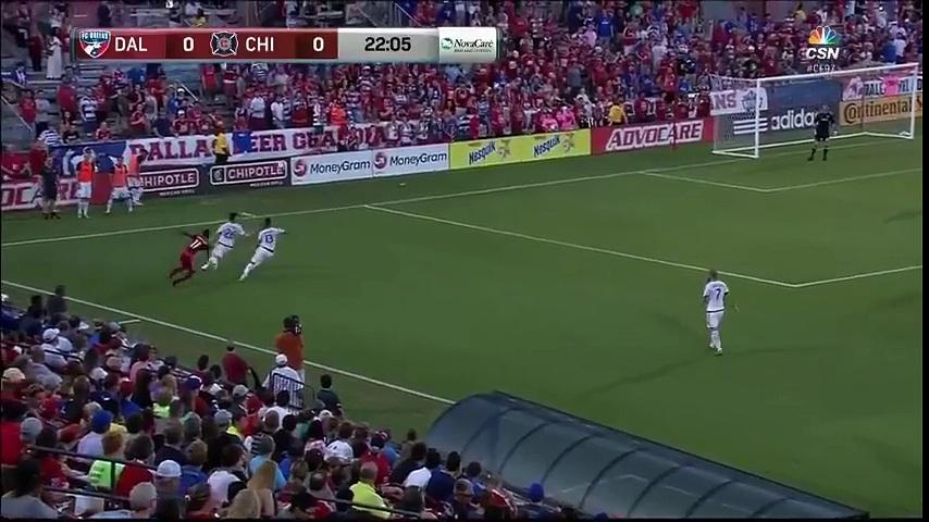 HIGHLIGHTS : FC Dallas vs. Chicago Fire | July 16, 2016 MLS